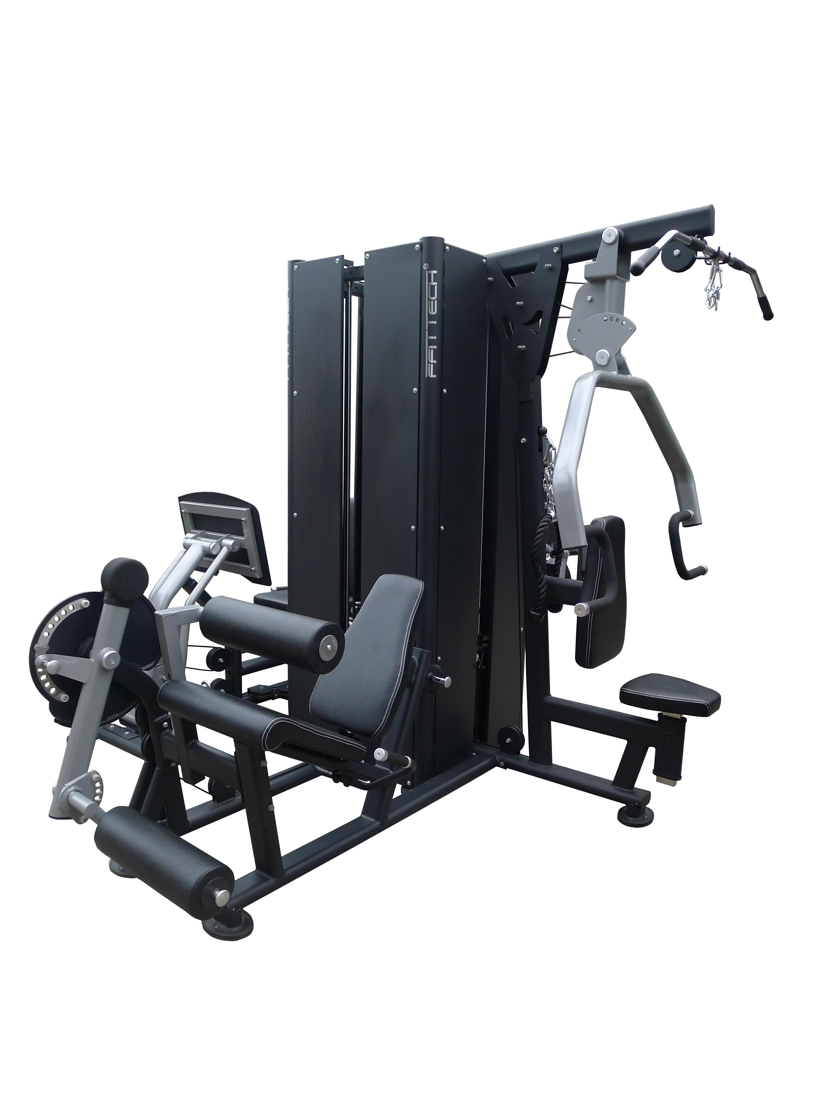 Four Gym Stations