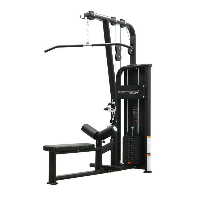 Lat Pulldown & Low Row